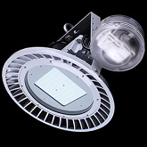 100 WATT LOW PROFILE DIMMABLE LED HIGH BAY WITH OCCUPANCY SENSOR